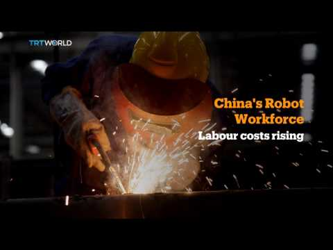 Money Talks: China dominating global industrial robot market
