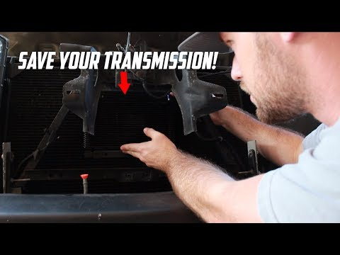 How To Install a Transmission Cooler | B&M 24,000