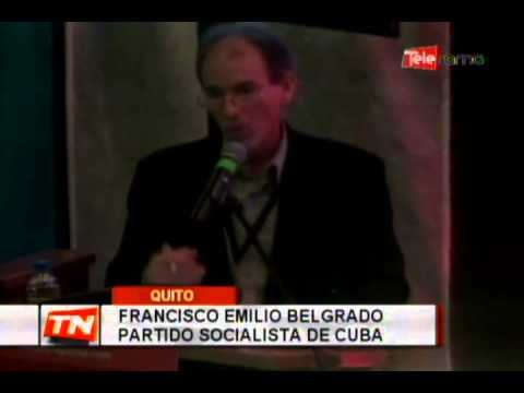 Continúa el encuentro latinoamericano progresista