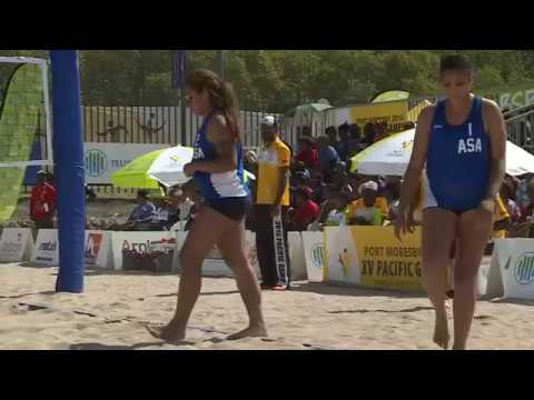 Pacific Games  2015  D11 BEACH  VOLLEYBALL F G5 TUVALU vs SOLOMON IS