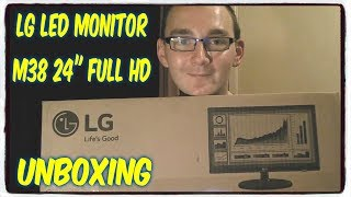 "LG LED Monitor M38 24"" Full HD [UK Unboxing]"
