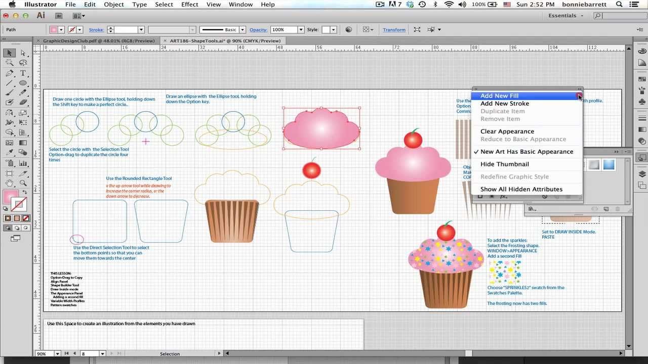 Lesson 8: Draw A Cupcake In Illustrator Cs6
