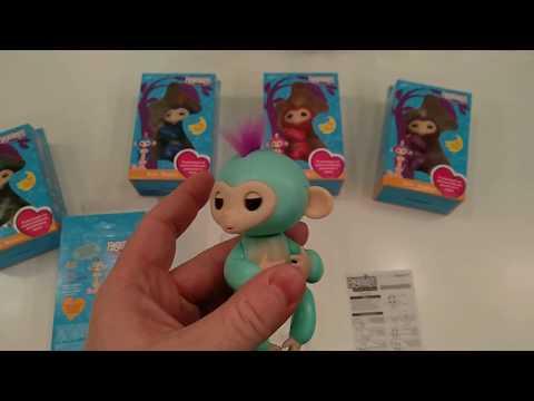Fingerlings интерактивная обезьянка, распаковка, как отличить оригинал от подделки!