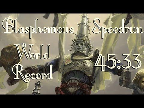 Blasphemous Speedrun World