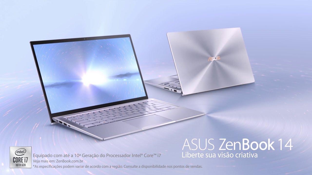 ASUS ZenBook 14 UX431FA - Liberte sua visão criativa