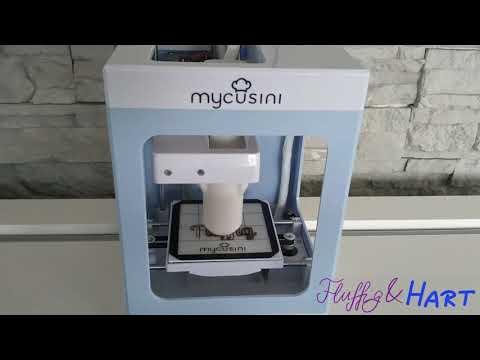 Test mit MyCusini 3D - Schokodrucker mit individuellem Print-Motiv
