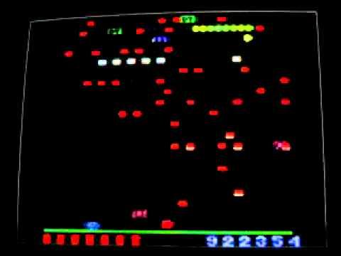 Millipede Atari 2600 Online Millipede Atari 2600 X...