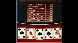 Free MOBILE HiLo Video Poker Pay Table734