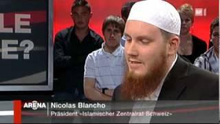 Nicolas Blancho bei Arena 6 von 8 SF1 Radikale Muslime von 23.04.2010