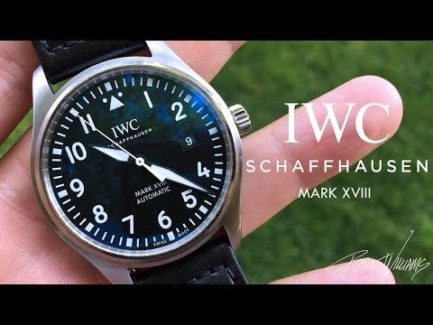 IWC Schaffhausen Mark XVIII Review