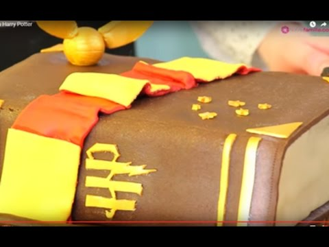 faire un gâteau harry potter - youtube
