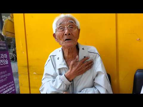 A chat with the GodFather of Yongsan, Seoul, Korea