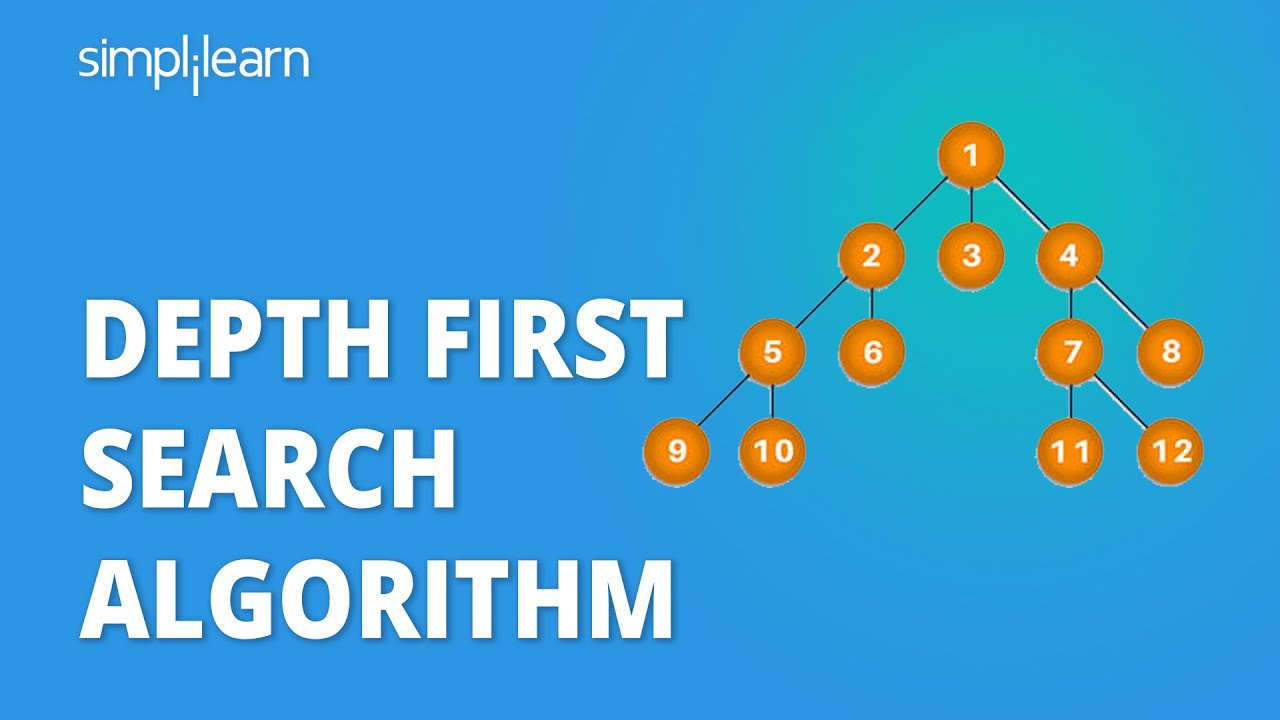 DFS Algorithm   Depth First Search Algorithm   DFS In Data Structure   Data Structures