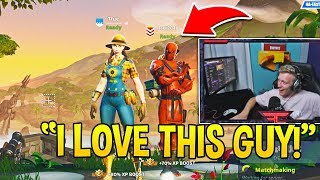 Tfue CRIES OF LAUGHTER Playing DUOS with This OLD GUY in Fortnite!