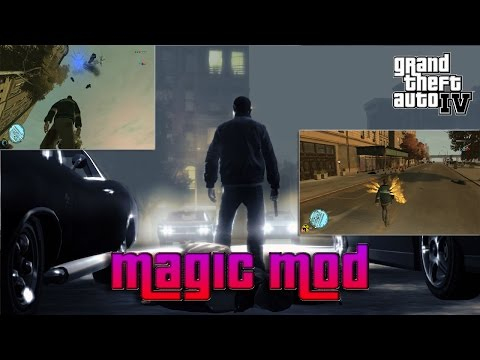 Gta 4 | Magic Script | Mod | Gameplay