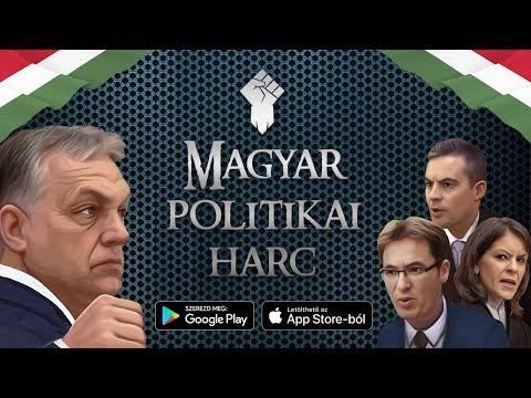 MAGYAR POLITIKAI HARC - új mobil játék az Android és iOS 👊🇭🇺