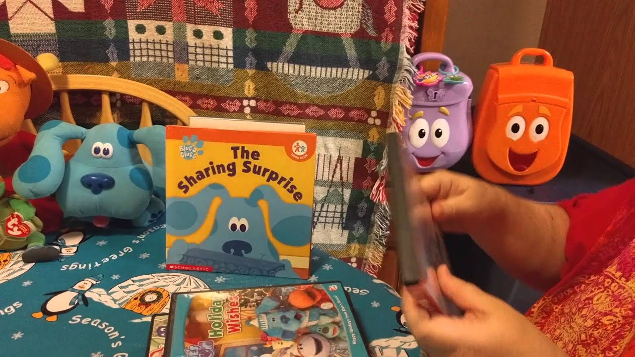 kiana's nick jr. christmas dvd collection! - youtube