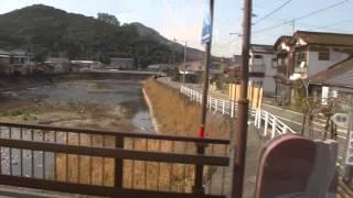 峠から産交バスで佐敷駅へ・03223・芦北・湯浦・津奈木・佐敷