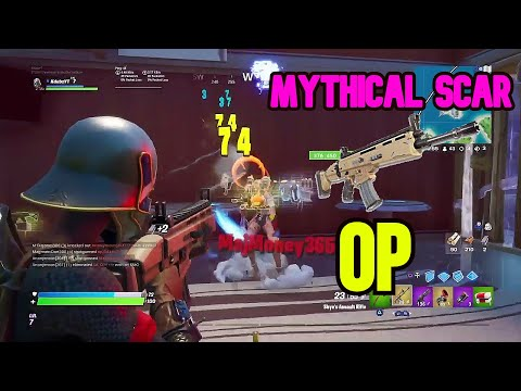 How To Get NEW MYTHICAL SCAR EVERYTIME|Fortnite Season 2 Tutorial