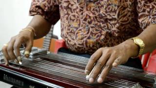 Tumi Rabe Nirobe-Tagaore song on Electric Steel Guitar by Achintya Karmakar