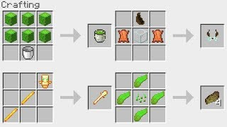 SPECIAL New Minecraft 1.14 Crafting Recipes