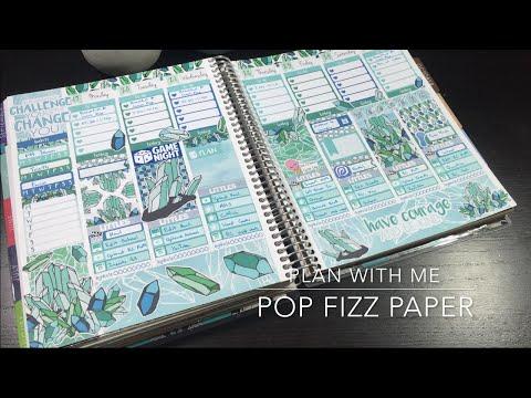 PWM Erin Condren // ft. Pop Fizz Paper - Gems