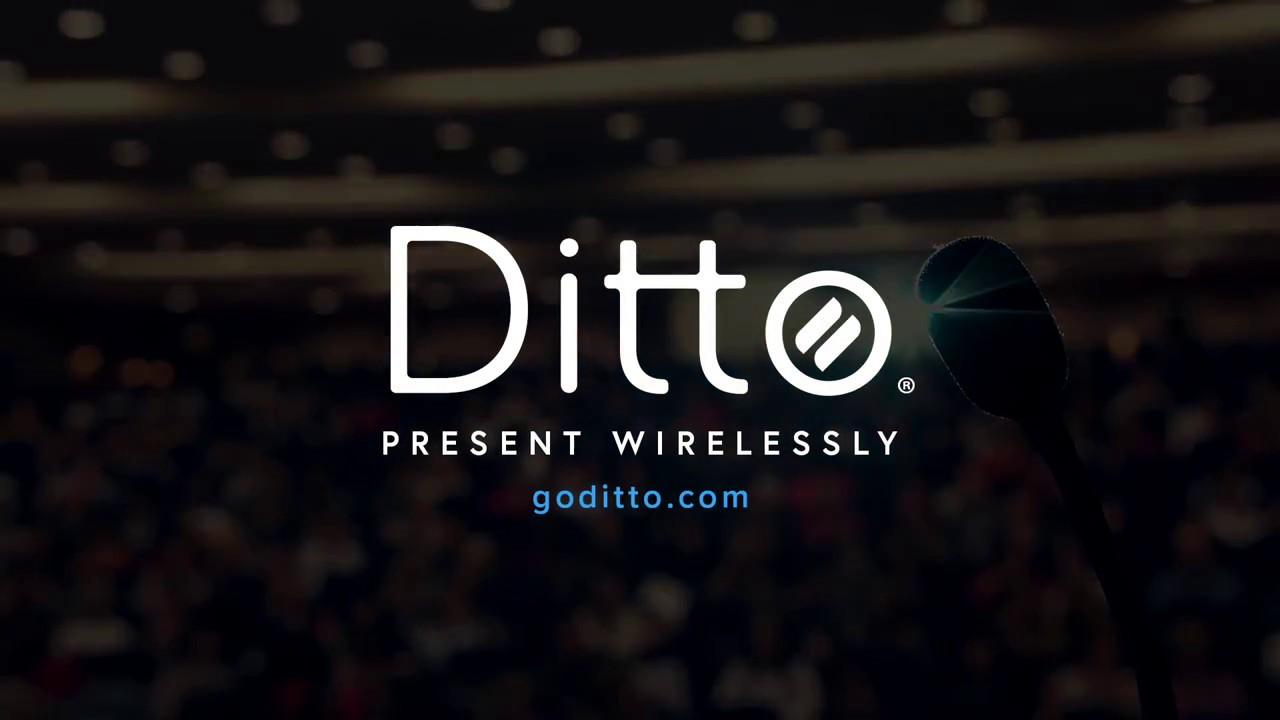 Wireless Presentation Software   Ditto