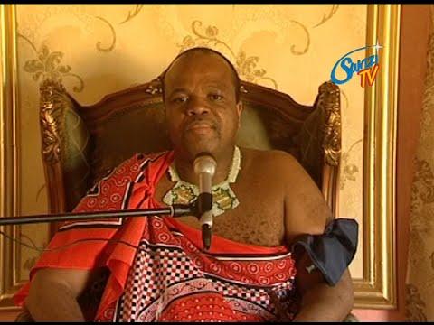 His Majesty King Mswati III is back home