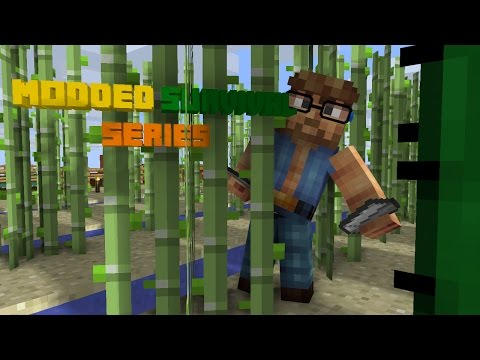 I'am a Smelting Nerd!!!-Minecraft 1.7.10 Modded Survival Series EP. 5