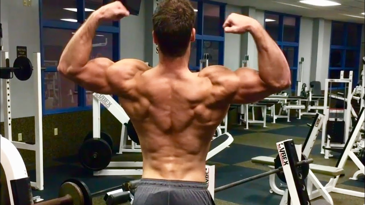Connor Murphy Back and Biceps Workout - YouTube