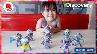 Discovery Robots #mindblown   Happy Meal Toys March 2019