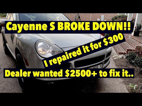 Porsche Cayenne S DIY Repair Saved $2200!!