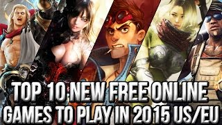 Top 10 NEW Free Online Games to Play in 2015 (US & EU)(http://www.freemmostation.com/ ▻ Loot Crate offer: Go to http://lootcrate.com/freemmostation and use the code: freemmostation at checkout to get 10% off your ..., 2015-06-17T16:48:23.000Z)
