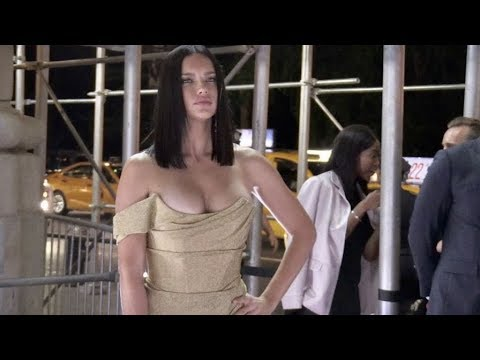 Adriana Lima and more arrive at the Harper s BAZAAR Celebrates ICONS Party in New York City