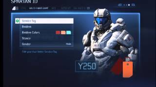 Halo 4 | Pre Release | Armor Customization Preview
