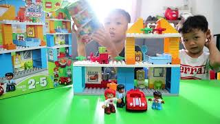 Unboxing Lego Duplo Family House 10835 Seri My Town
