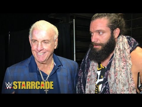 Ric Flair and Elias capture the importance WWE Starrcade: WWE Exclusive, Nov. 25, 2018