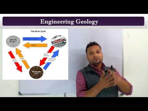 Engineering Geology (अभियांत्रिक भूविज्ञान) an Introduction in Hindi
