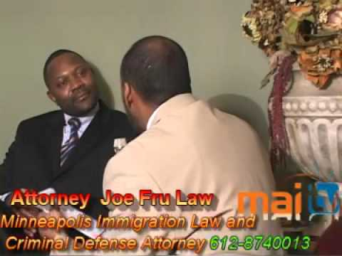 Minneapolis Immigration Law and Criminal Defense Attorney Joe Fru Law