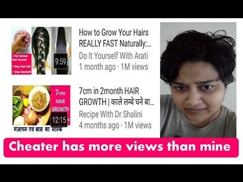 Do it yourself with Arati stolen my  literature, How to Grow Your Hairs REALLY FAST Naturally,