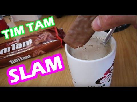 Tim Tam Slam How to eat Tim Tams (The Correct Way)