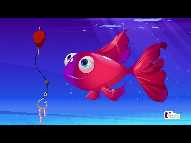 Kırmızı Balık Kaç Kaç Kaç | Çocuk Şarkıları | Bebek Şarkıları | Okul Öncesi Eğitim