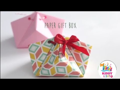 DIY Paper Gift Box | Easy Paper Boxes | DIY Activities