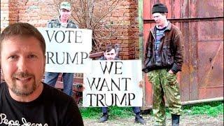 Урок украинского и селючье за Трампа