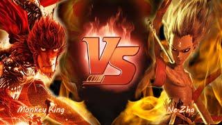 ซุนหงอคง VS นาจา (Monkey King VS Ne zha)