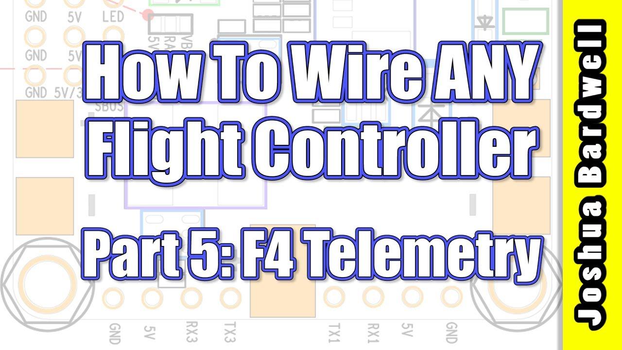 Flight Controller Wiring For Beginners - Part 5