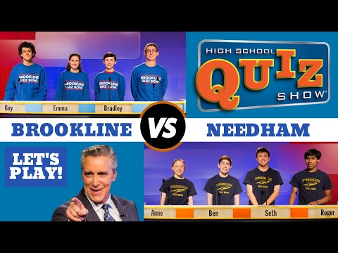 High School Quiz Show - Brookline vs. Needham (903)