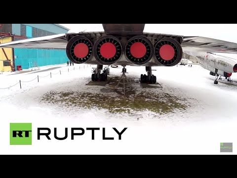 Russia: Drone captures