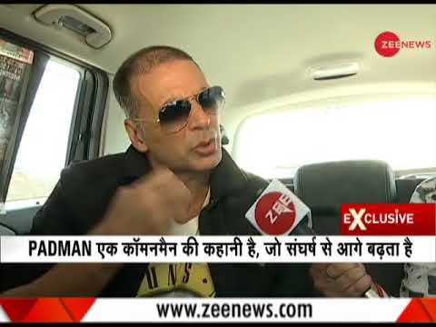 Zee News Exclusive: In conversation with Bollywood actor Akshay Kumar