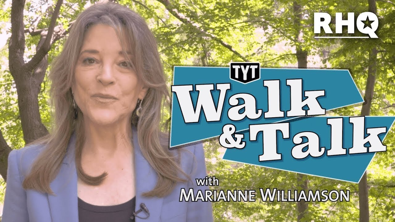 "Marianne Williamson Wants Trump To Call Her ""Madame President"""